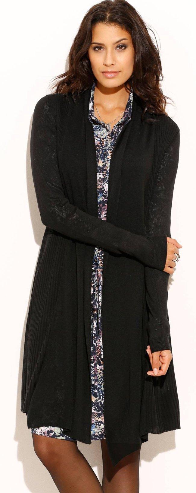 Gilet long noir femme: c'est mon atout contre le froid