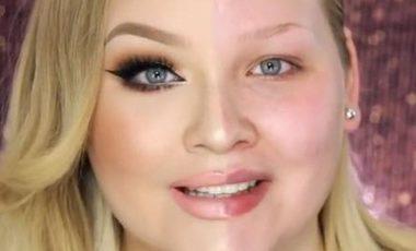 Maquillage des yeux verts, la beauté des yeux