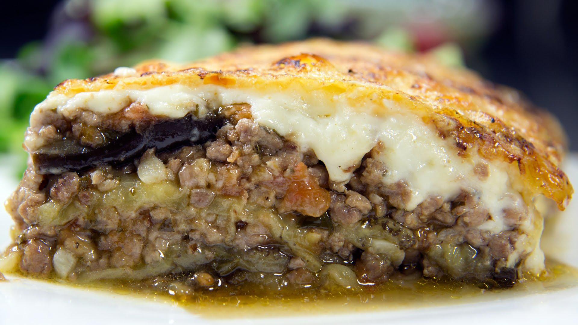 Moussaka, l'un de mes plat préférés depuis toujours !