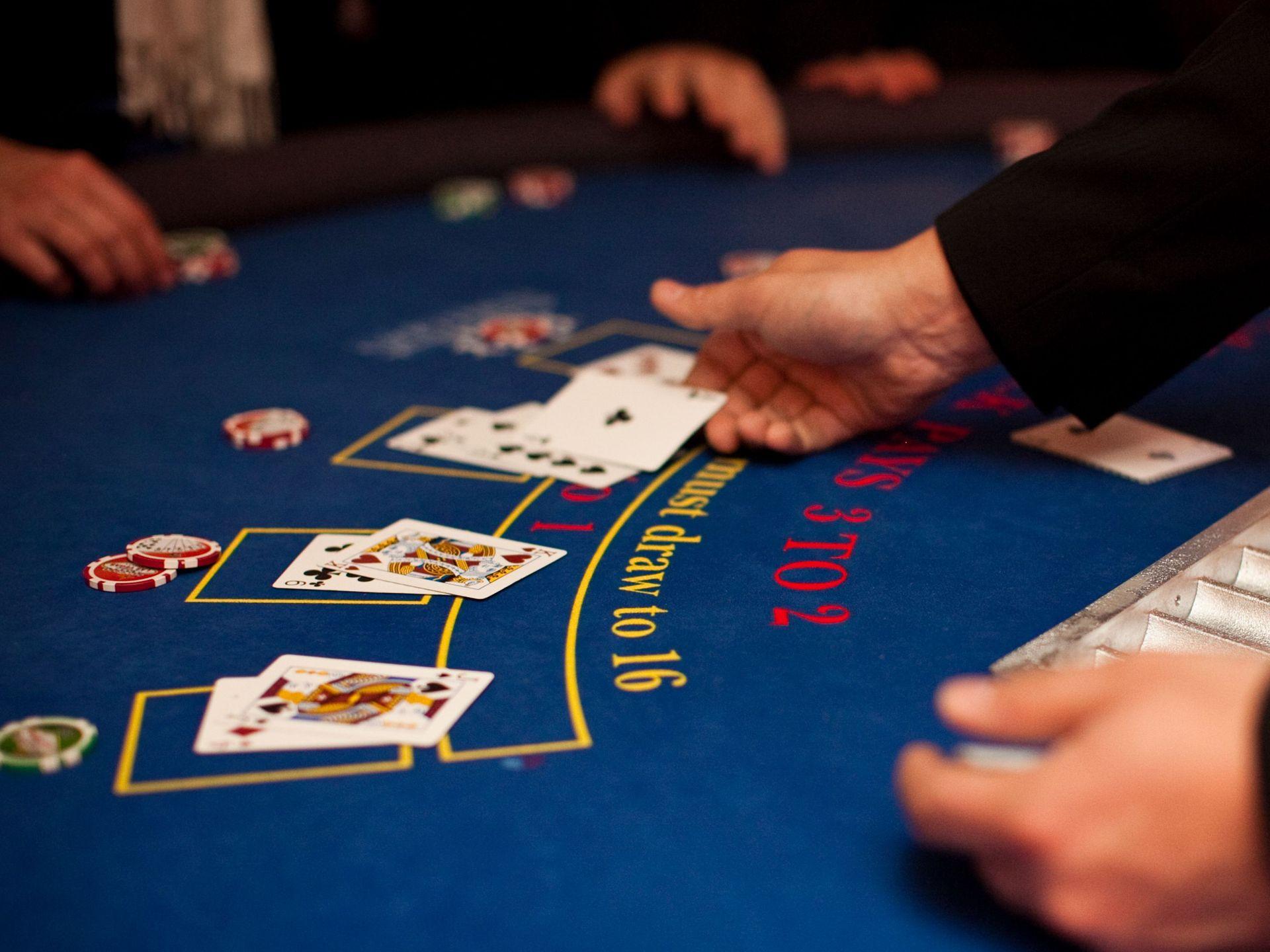 Blackjack en ligne : tout miser pour gagner